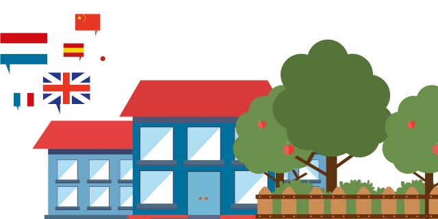 Le CLL organise aussi des cours de langues dans les écoles primaires et secondaires